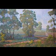 Landscape Painting by Laguna Beach Artist Rachel Uchizono