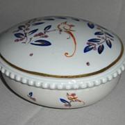 Circa 1920 Porcelain Covered Dish