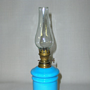 SALE Antique Miniature Oil Lamp
