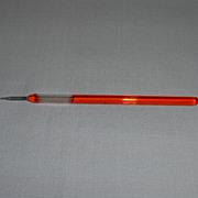 SALE Vintage Glass Writing Pen