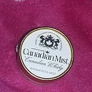 True Vintage Miniature Perfume Scent Bottle  Hattie Carnegie Canadian Whisky Mist Advertising a gogo