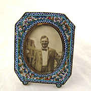Small Micro Mosaic Frame – Antique – c 1900