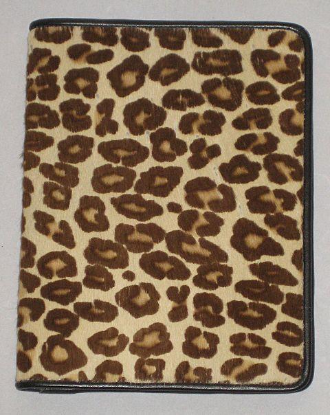 1980's Carlos Falchi Calf Fur Photo Book