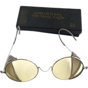 Antique safety glasses goggles Universal Side Shield