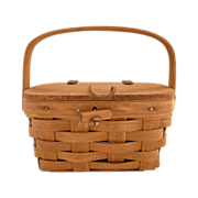 Longaberger basket purse childs swing handle