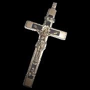 Vintage Collectible Skull & Cross Bones Crucifix Cross
