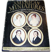Hard Bound Book American Miniatures C. 1937