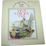 "Children's Illustrated Book "" Tiny Chick's Tail""  Gallery Books"