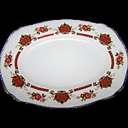 "Royal Staffordshire Porcelain Platter "" BETSY """