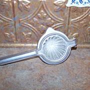 Vintage Aluminum Juicer Displays Well!
