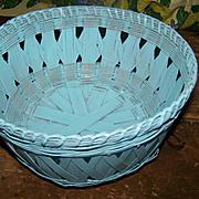 Vintage Hand Woven Basket