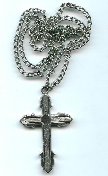 Vintage Cross Crucifix Gothic Style Necklace