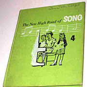 The New High Road of Song 4 Gage School Text Book