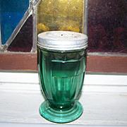 Jennyware Ultramarine Footed Glass Sugar  Shaker