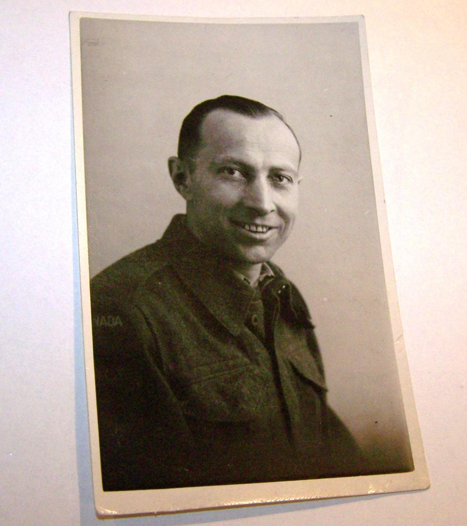1947 B&W Photograph Canadian Soldier