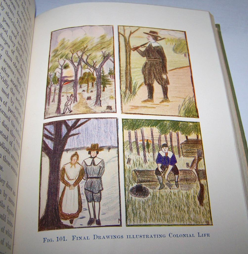 How Children Learn to Draw Book Ginn & Co.  C. 1916