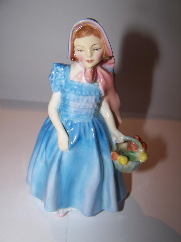 Blue  Wendy Royal Doulton Bone China Figurine