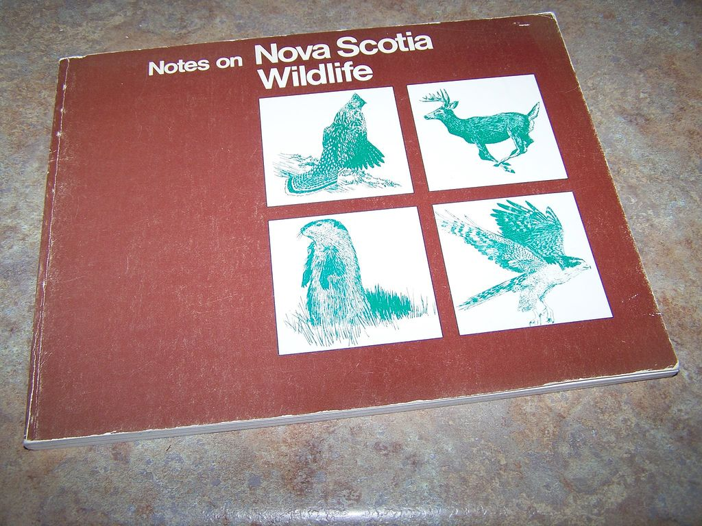 Notes On Nova Scotia Wildlife Booklet C.1980