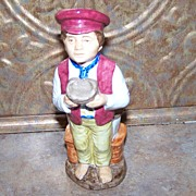Wood & Sons England Toby Jug Oliver Twist Franklin Porcelain
