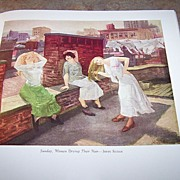 """H.C. Book """" Modern American Painting """" C. 1940 Dood , Mead & Company"""