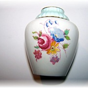 Paragon Double Warrant Miniature Porcelain Vase Floral Motif