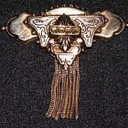 Victorian Revival Tassel Brooch