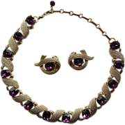 Corocraft Necklace & Earrings