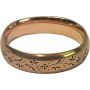 Gold Fill Bangle Bracelet Signed Foster & Bailey , C.1890