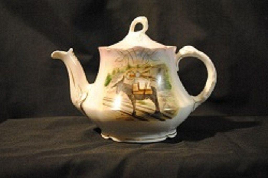 "Vintage  ""Louvre"" Bavaria Teapot"