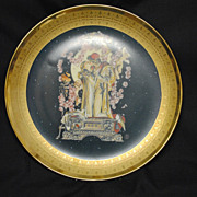 "1980 Royal Cornwall ""Romeo and Juliet"" Plate"