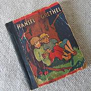 Teeny Tiny Hansel & Grethel Fairy Tale Book 1930s