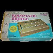 Rolomatic Bridge Machine - Set 2 for Experienced Players by Milton Bradley c. 1969