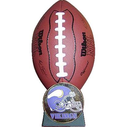 Hallmark Minnesota Vikings Keepsake Christmas Ornament - NFL Collection 2000