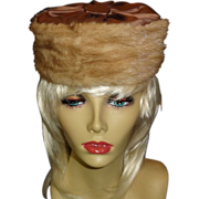 Vintage Mink Hat by Lora