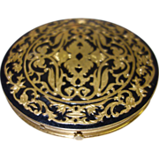 Large Vintage Compact by Rex 5th Avenue