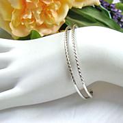 Delicate Napier Sterling Cuff Bracelet
