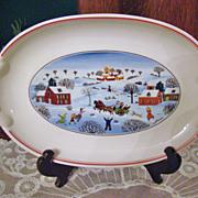 Villeroy & Boch Pickle Dish ~ Naif Christmas ~ Laplau