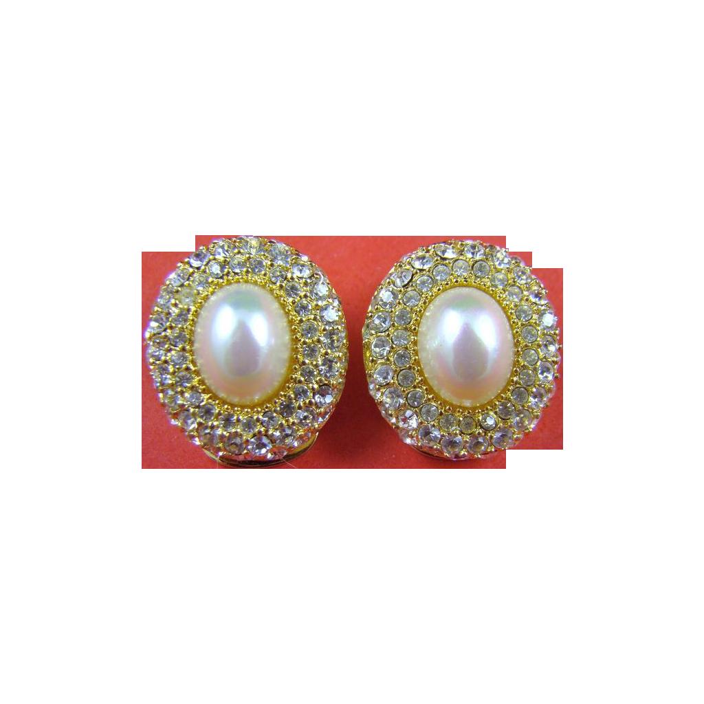 Breathtaking Christian Dior Evening Earrings