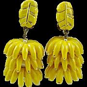 "SALE ""Banana Boat"" Earrings"