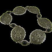 SALE Bold Western Belt Buckle Style Necklace