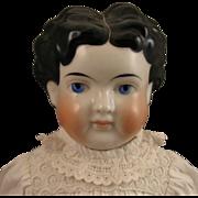 "24"" Antique German ABG Child China Head Doll"