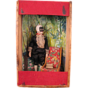 SALE Phantom of the Opera Puppet Doll in Box Vignette Early 1900s