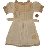 "Early 1900s Original Factory Made Doll Dress for 14"" Bisque Doll"