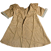 "1920s Beige Silk Coat Dress for 20""-24"" Doll"