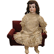 "All Original 30"" Early Closed Mouth #103 Kestner Child Doll"