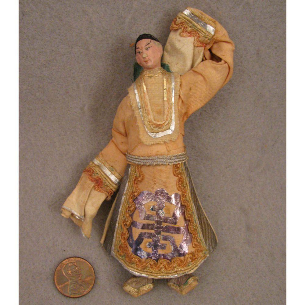 Early 1900s Miniature Chinese Opera Doll