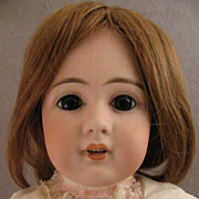 "19"" Simon & Halbig Model 939 Bisque Head Doll on Ball Jointed Body"