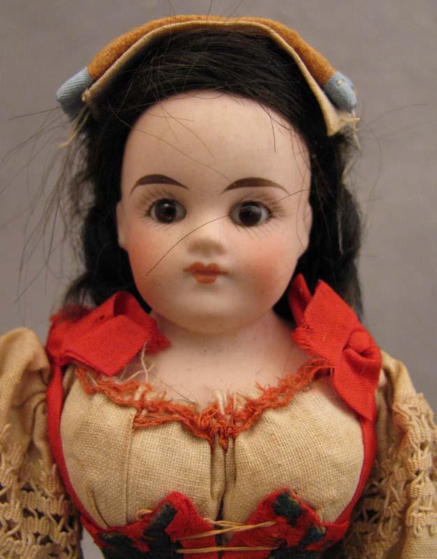 "8"" Belton Type Bisque Doll in Italian Regional Costume"