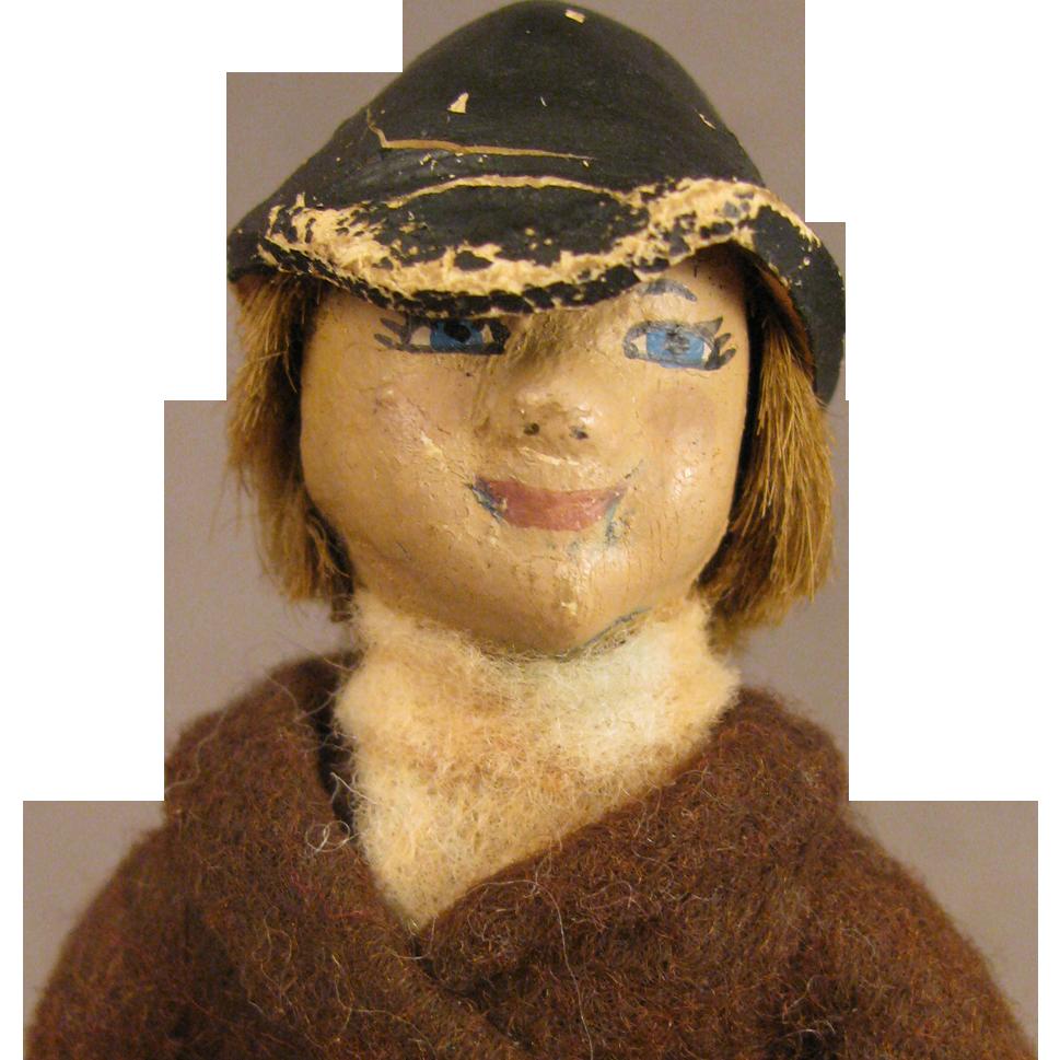 "c.1950s Julip Latex Girl Rider Doll 5"""