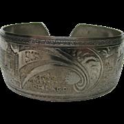 SALE 1933 Chicago World's Fair Bracelet Cuff
